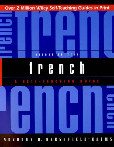 French A Self-Teaching Guide 2nd 2000 (Revised) edition cover