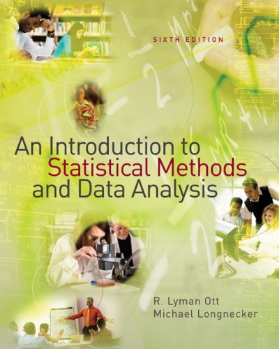 Introduction to Statistical Methods and Data Analysis  6th 2010 edition cover