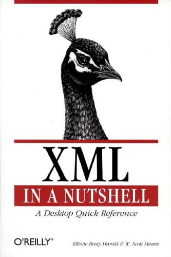 XML in a Nutshell   2001 edition cover