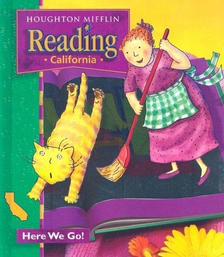 Reading California: Here We Go, Level 1. 1 1st 2001 9780618151585 Front Cover