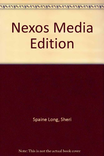 Nexos Media Edition Plus Student Activity Manual   2007 9780618771585 Front Cover