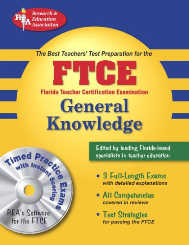 FTCE General Knowledge  N/A 9780738602585 Front Cover
