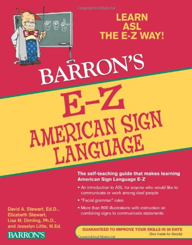 E-Z American Sign Language  3rd 2011 edition cover