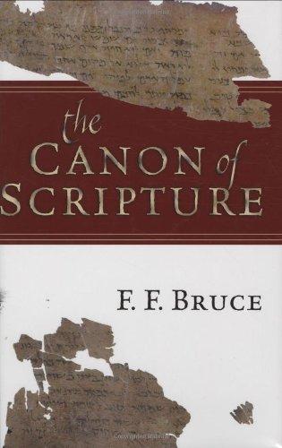 Canon of Scripture  Reprint edition cover
