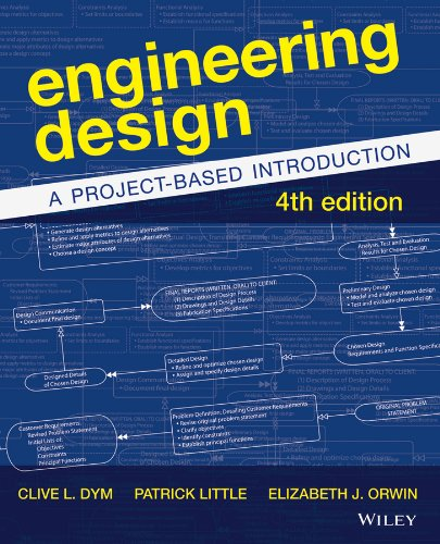 Engineering Design A Project-Based Introduction 4th 2014 edition cover