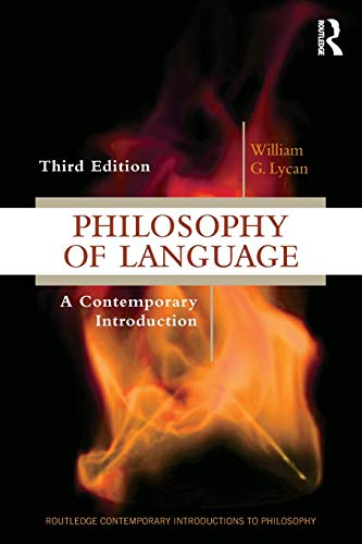 Philosophy of Language  3rd 2019 9781138504585 Front Cover