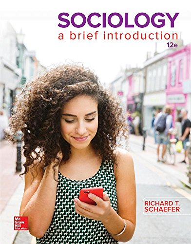Sociology: A Brief Introduction  2016 9781259425585 Front Cover