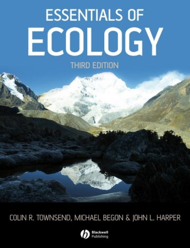 Essentials of Ecology  3rd 2008 (Revised) edition cover
