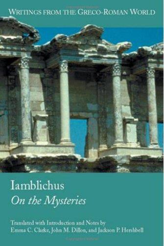 Iamblichus   2003 edition cover