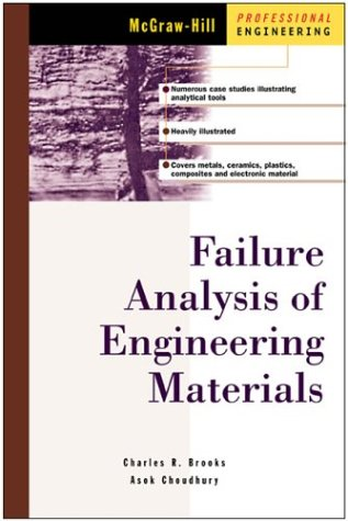 Failure Analysis of Engineering Materials   2002 edition cover
