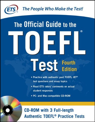 Official Guide to the TOEFL Test  4th 2016 9780071766586 Front Cover