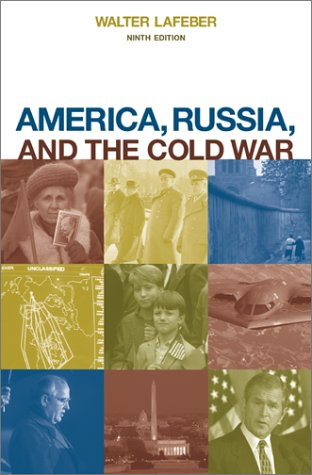 America, Russia, and the Cold War, 1945-1996  9th 2002 edition cover
