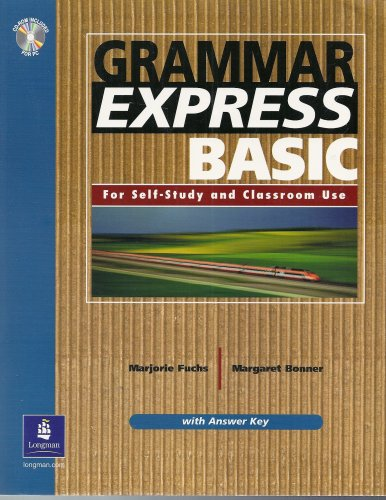 Grammar Express Basic with Answer Key   2004 9780131523586 Front Cover