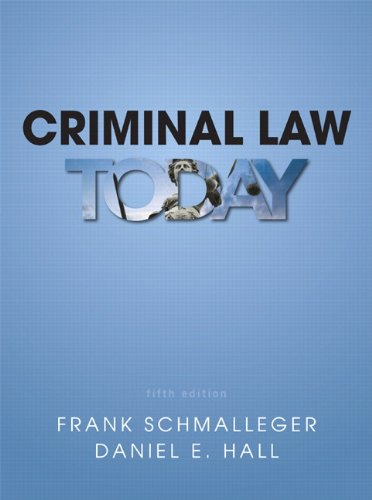 Criminal Law Today  5th 2014 edition cover