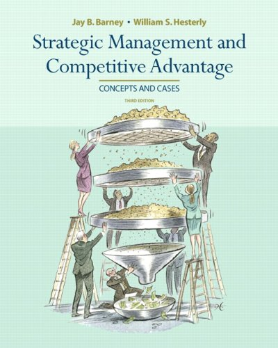 Strategic Management and Competitive Advantage  3rd 2010 edition cover