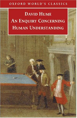 Enquiry Concerning Human Understanding   2007 9780199211586 Front Cover