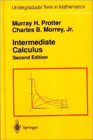 Intermediate Calculus  2nd 1985 (Revised) 9780387960586 Front Cover