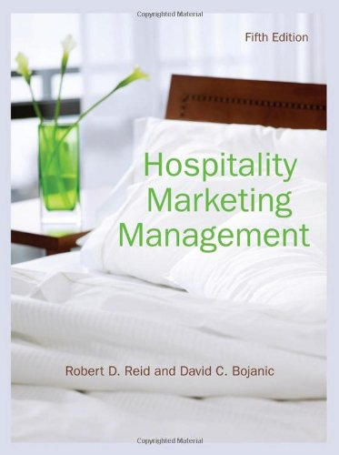 Hospitality Marketing Management  5th 2010 edition cover