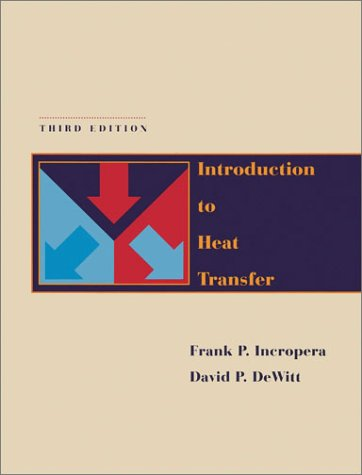 Introduction to Heat Transfer with IHT2. 0/FEHT with Users Guides  3rd 1996 edition cover