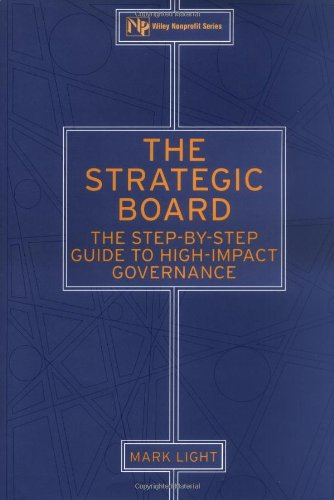 Strategic Board The Step-by-Step Guide to High-Impact Governance  2001 edition cover