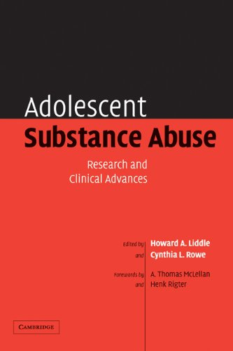 Adolescent Substance Abuse Research and Clinical Advances  2005 9780521823586 Front Cover