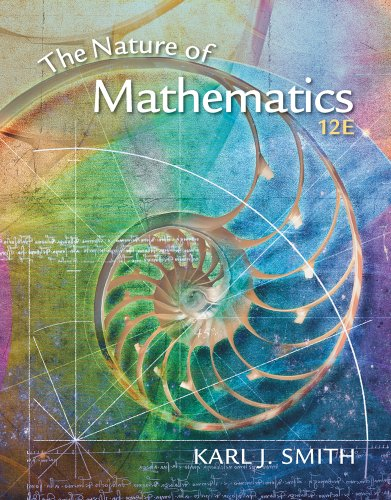 Nature of Mathematics  12th 2012 edition cover