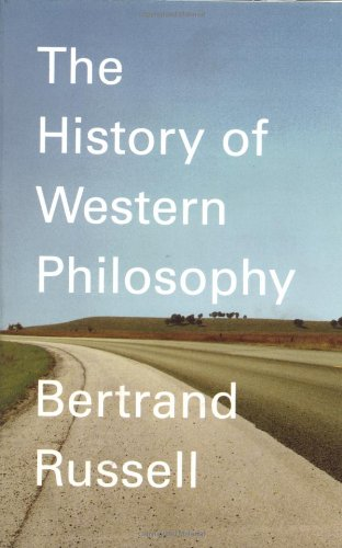 History of Western Philosophy   1967 9780671201586 Front Cover
