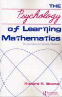 Psychology of Learning Mathematics Expanded American Edition  1987 9780805800586 Front Cover