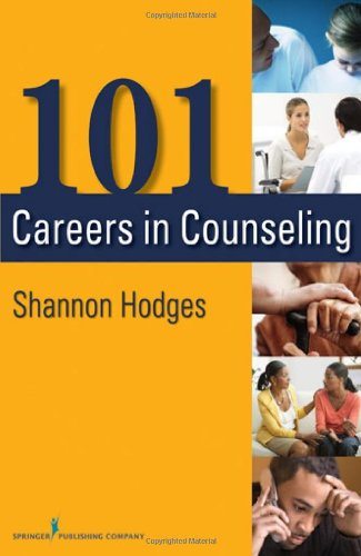 101 Careers in Counseling   2012 edition cover