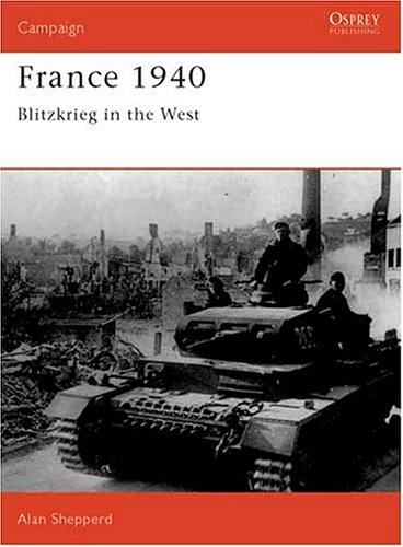 France 1940 Blitzkrieg in the West  1990 edition cover