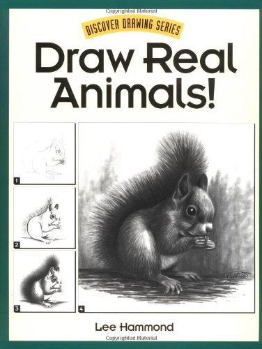 Draw Real Animals!   1996 edition cover