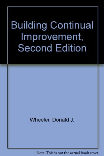Building Continual Improvement, Second Edition 2nd 2001 edition cover