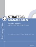 STRATEGIC MANAGEMENT >PRELIM ED<        N/A 9781118976586 Front Cover