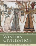 Western Civilization Volume a: To 1500 9th 2015 edition cover