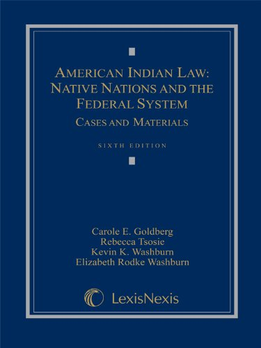 American Indian Law ('08 Statutory Suppl)  N/A 9781422426586 Front Cover