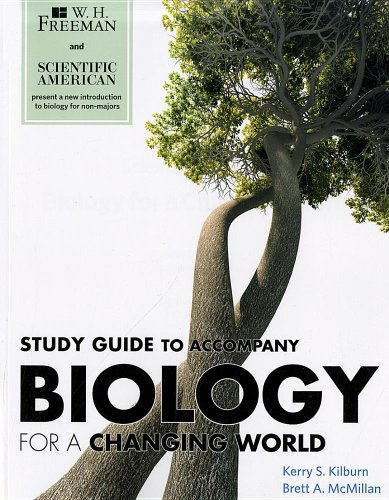 BIOLOGY FOR A CHANGING WORLD-S N/A edition cover