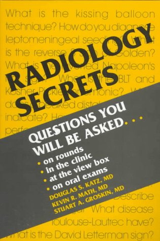 Radiology Secrets   1996 edition cover