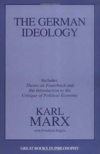 German Ideology Theses on Feuerbach and the Introduction to the Critique of Political Economy Unabridged edition cover