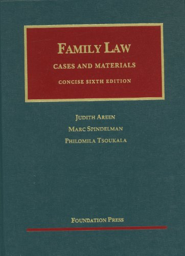 Family Law, Concise  6th 2012 (Revised) edition cover