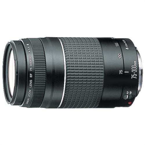 Canon EF 75-300mm f/4-5.6 III Telephoto Zoom Lens product image