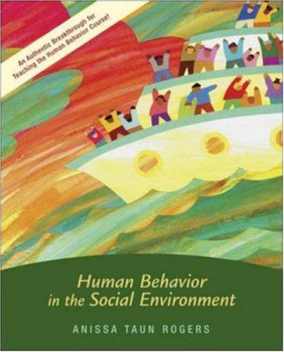 Human Behavior in the Social Environment   2006 edition cover