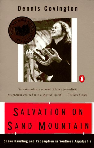 Salvation on Sand Mountain Snake Handling and Redemption in Southern Appalachia N/A edition cover
