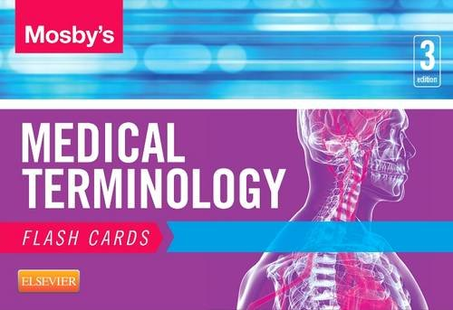 Mosby's Medical Terminology Flash Cards  3rd edition cover
