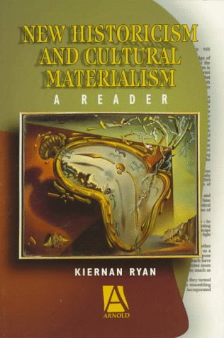 New Historicism and Cultural Materialism A Reader  1996 edition cover