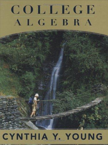 College Algebra   2006 edition cover