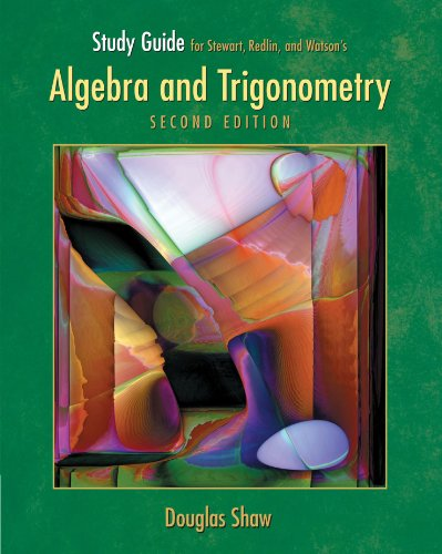 Algebra and Trigonometry  2nd 2007 9780495013587 Front Cover