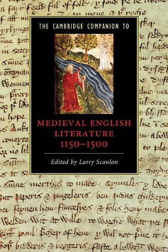 Medieval English Literature, 1100-1500   2009 edition cover