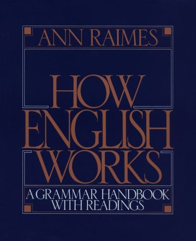 How English Works A Grammar Handbook with Readings  1998 edition cover