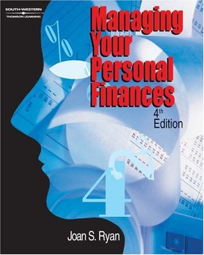 Managing Your Personal Finances  4th 2002 (Revised) 9780538699587 Front Cover