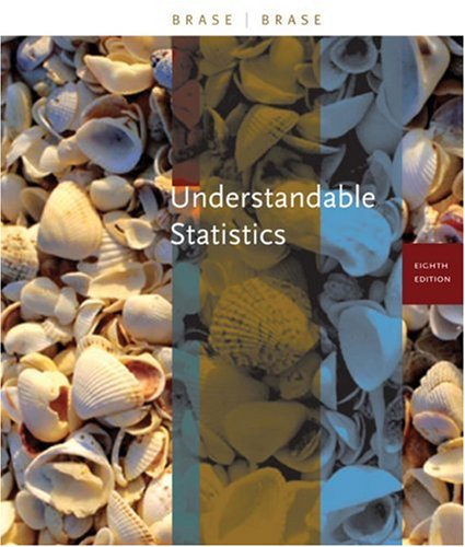 Understandable Statistics Concepts and Methods 8th 2006 (Student Manual, Study Guide, etc.) edition cover